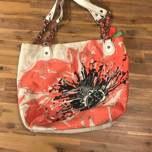 Coach bags euc poppy flower purse poshmark euc coach poppy flower purse mightylinksfo